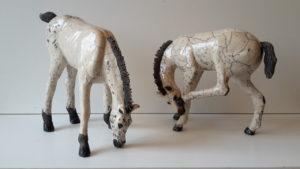 chevaux en raku