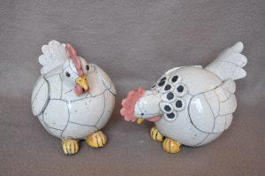 poules raku