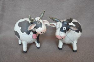 vaches en raku