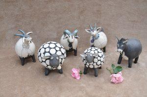 animaux en raku