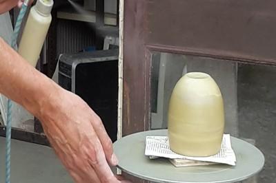 pulvérisation de la sigillée