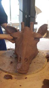 tête de giraffe